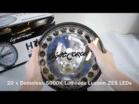 Lightforce HTX2 Hybrid Driving Light