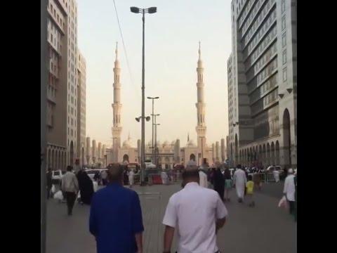 Exclusive feeling - Walk towards the Prophet's Mosque, Madinah