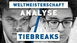 Carlsen - Caruana Tiebreaks Schach WM 2018 | Großmeister-Analyse
