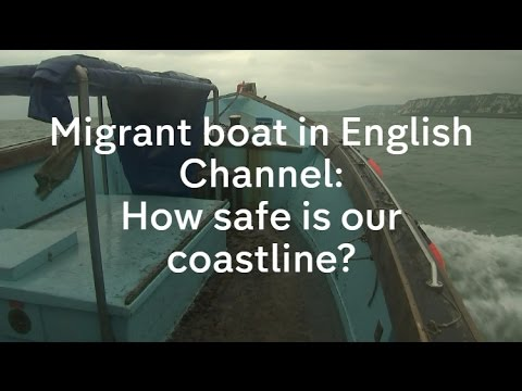 Albanian migrants rescued crossing English Channel