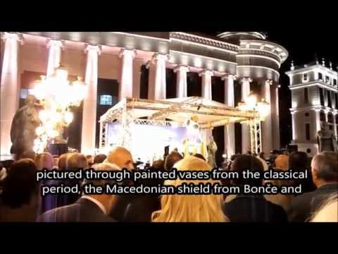 "Opening of the s.c. ""Archaeological Museum of Macedonia"", Skopje, 18-X-2014"