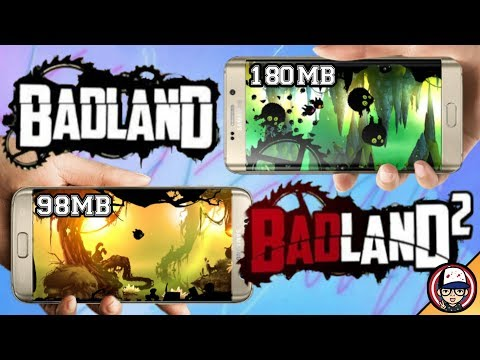 BADLAND AND BADLAND 2 || WITH MOD APK || FOR ANY ANDROID DEVICE || GAMEPLAY PROOF ||BY RAJ