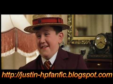 HARRY POTTER AND THE PHILOSOPHERS STONE CUT SCENE1 DUDLEY IN SMELTINGS UNIFORM