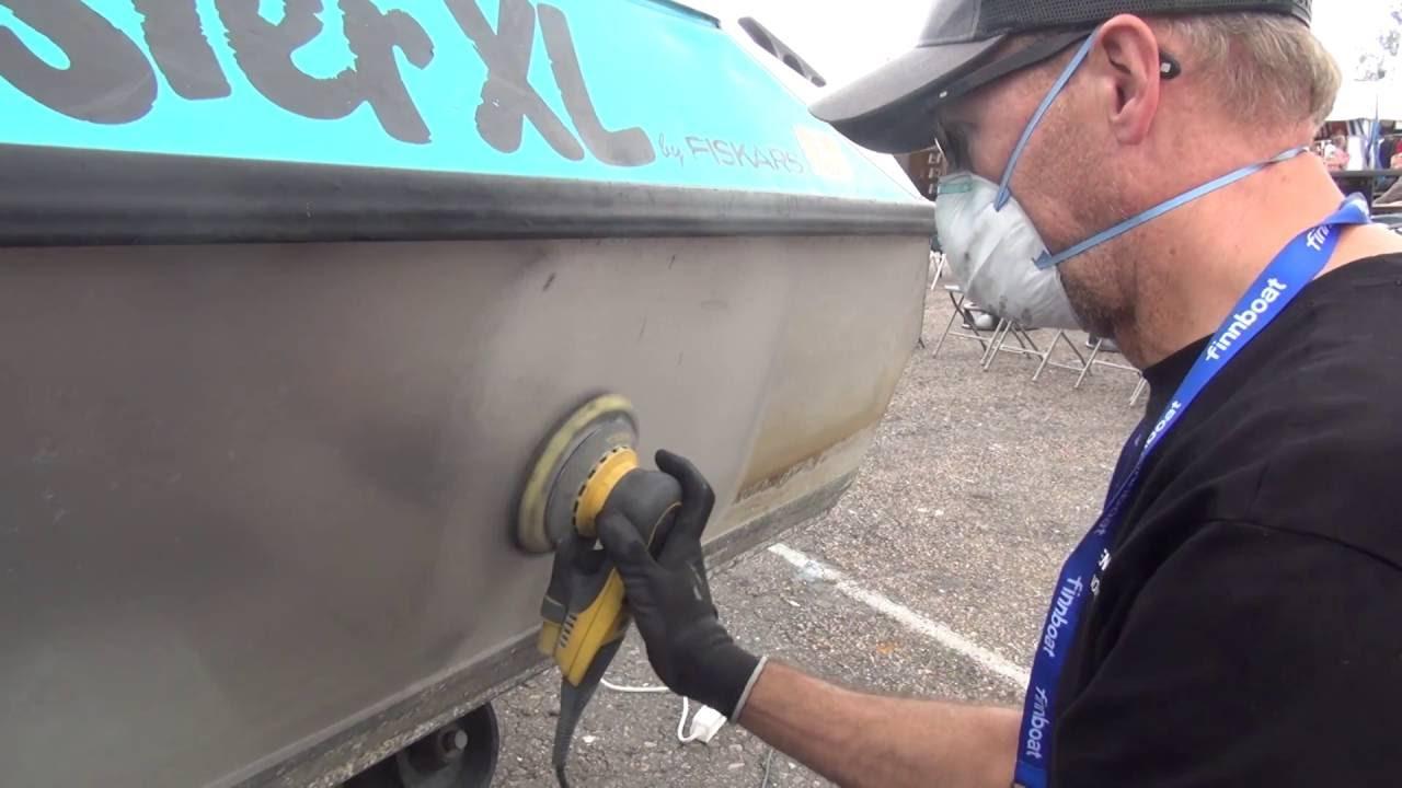 alumiiniveneen puhdistus