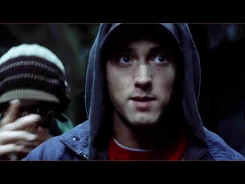 8 Mile (2002) - Parking Lot Rap Battle Scene - Eminem Movie