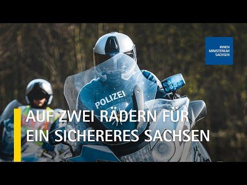 24 Neue Motorräder Für Die Polizei Sachsen