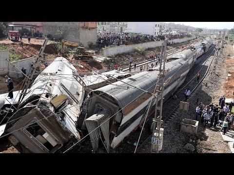 مقتل أكثر من 10 وإصابة العشرات في خروج قطار عن القضبان بالمغرب…  - نشر قبل 2 ساعة