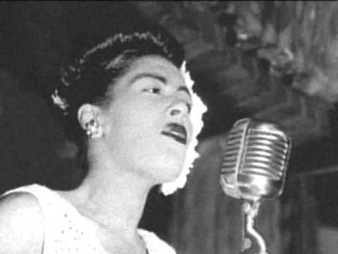 Billie Holiday ed on Peacock Alley TV  1956