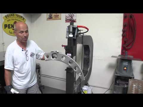 Lazze Metal Shaping: Lazze's Louver Press