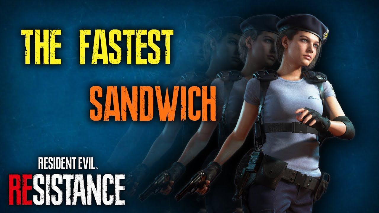 RESIDENT EVIL REsistance - FASTEST JILL SANDWICH Survivor Build Gameplay