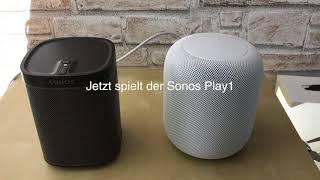 Apple HomePod Soundcheck deutsch/german
