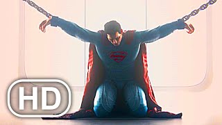 JUSTICE LEAGUE Superman Chained Up In Prison Scene 4K ULTRA HD - Injustice 2 Cinematic