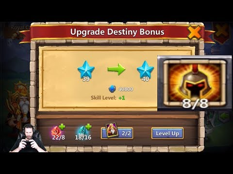 Warlock Destiny Maxed Out 12/12 HITS 4 Targets BEAST Castle Clash