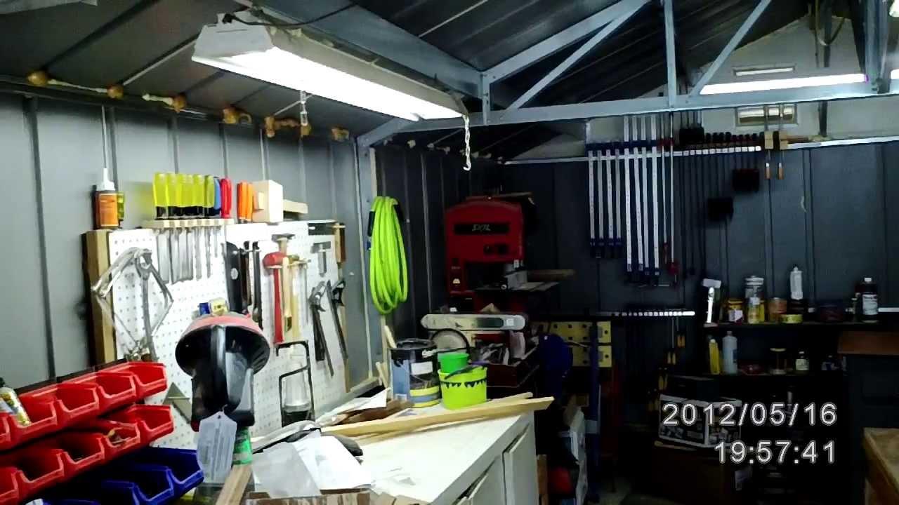 my garage workshop tour 2014 youtube