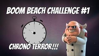 BOOM BEACH CHALLENGE #1 | DR.TERROR CHRONO | RETANDO A RIDDLE ZONE