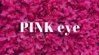 Pink Eye Makeup    Rougepout Beauty