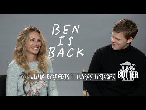 Julia Roberts & Lucas Hedges - 'Ben is Back' Interview | Extra Butter