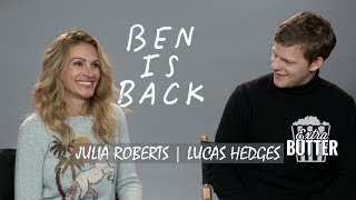 Julia Roberts & Lucas Hedges - 'Ben is Back' Interview | Extra Butter