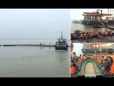Chinese ship capsizes on Yangtze with hundreds missing-BREAKING NEWS