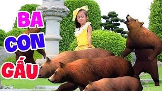 Ba Con Gấu 🐂 Bé Tú Anh 🐻 Nhạc Thiếu Nhi Hàn Quốc Cực Kỳ Sôi Động