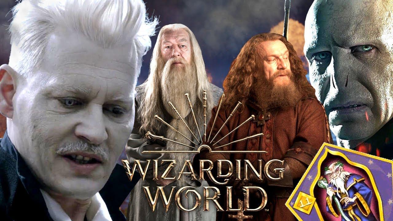 Top 9 Machtigste Zauberer Der Gesamten Wizarding World Youtube