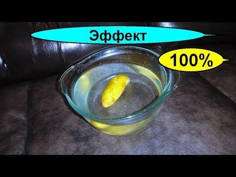 Очищение суставов картофельным отваром. Колени как новенькие за копейки