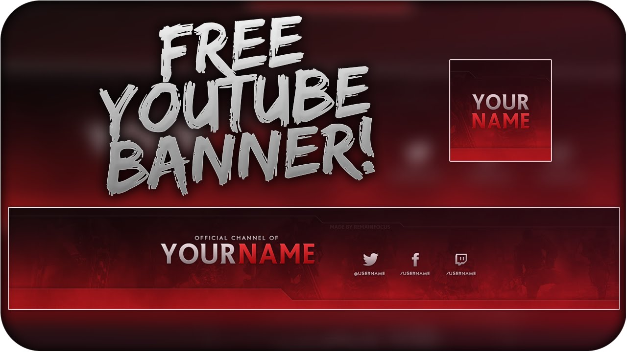 new youtube banner template for new youtube layout png and ...