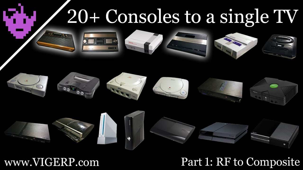 Connecting 20+ Consoles to a single modern TV: Part 1 - RF to ...