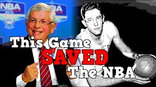 The Game That SAVED The NBA