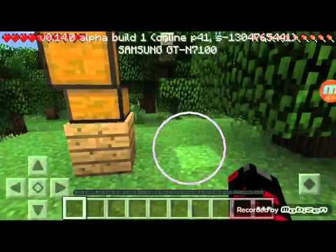 Minecraft PE Survival Town 01 Neuer Klon