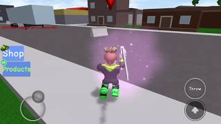 ROBLOX getting a killing spree in knife simulator! (Pow gaming Ep 1)