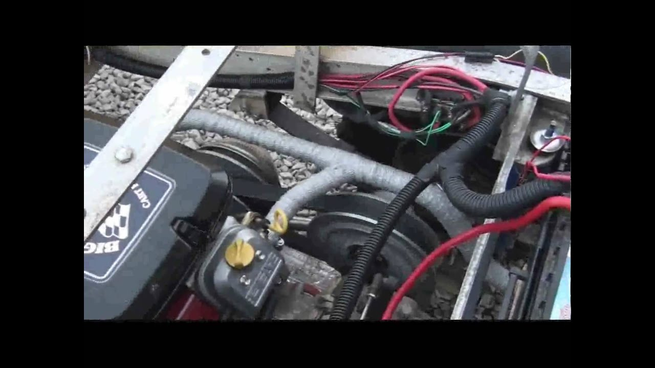club car engine upgrade kit 23 hp with muffler youtube
