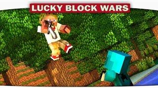 ч.22 Lucky Block Wars Minecraft - Парень просто ПСИХ!!!