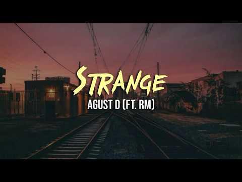 Agust D - Strange (Ft. RM) [INDO LIRIK]