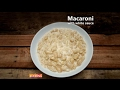 Macaroni with White Sauce   Ventuno Home Cooking