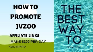 How to Promote JVZoo Affiliate Links  Free Method Without a Website on Quora