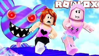 WE JUST WANTED to EAT a SWEET (Roblox-Escape The Candy Shop Obby)