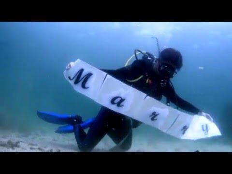 Underwater Proposal Julius and Melita