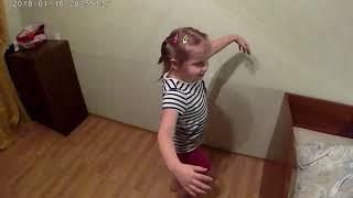 Зажигательный танец.Девчонка супер.
