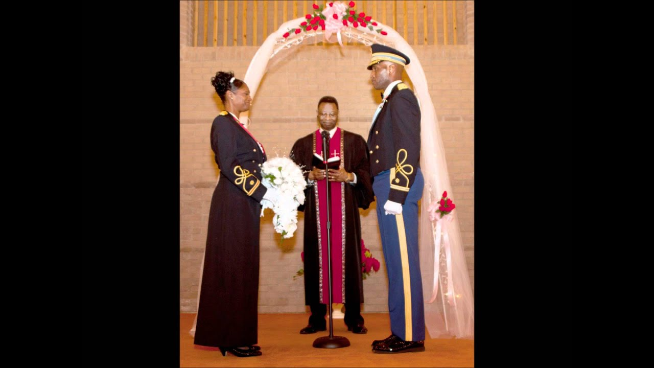 Military Style Wedding with Mess Dress uniform - YouTube