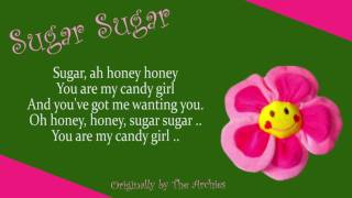 The Archies - Sugar Sugar (Plus Lyrics) (1969) [HIGH QUALITY COVER]