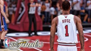 Game 7 of the NBA Finals! Win Or Go Home! NBA 2K19 Derrick Rose My Career Ep. 47