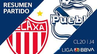 Resumen y Goles | Necaxa vs Puebla | Jornada 4 - CL 2020 | Liga BBVA MX