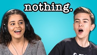 teens react to nothing.