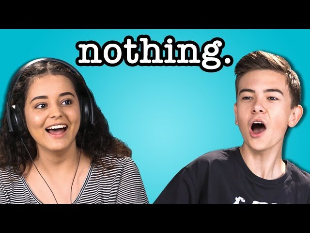 teens-react-to-nothing
