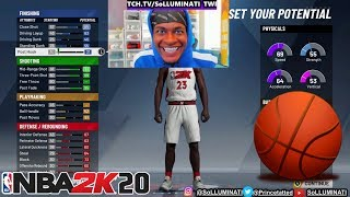 SoLLUMINATI NBA 2K20 PLAYER BUILD
