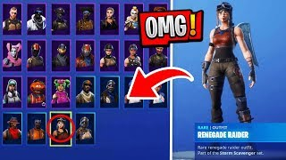 Fortnite SEASON 1 Renegade Raider and Ghoul Trooper Account get from ZUSCHAUER!! | Fortnite