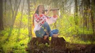 Native America Flute by a Ukrainian Girl