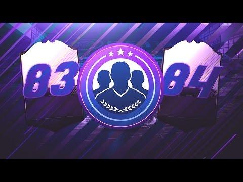 FIFA 17 | EL TRADEO DE LAS MEDIAS 83 Y 84!!!