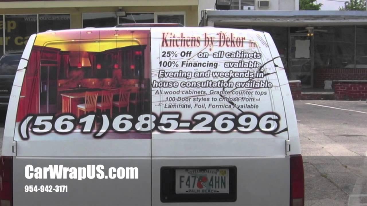 Chevy Astro Van Partial 3m Vinyl Car Wrap Kitchens By
